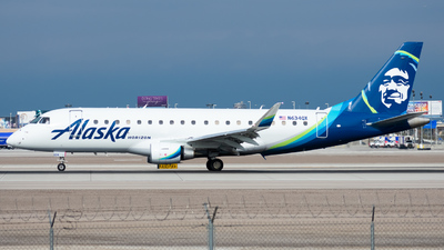 N634QX - Embraer 170-200LR - Alaska Airlines (Horizon Air)