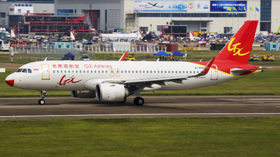 B-304X - Airbus A320-251N - GX Airlines