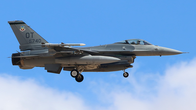 90-0740 - Lockheed Martin F-16C Fighting Falcon - United States - US Air Force (USAF)