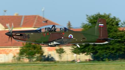 L9-64 - Pilatus PC-9M - Slovenia - Air Force