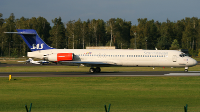 LN-RMU - McDonnell Douglas MD-87 - Scandinavian Airlines (SAS)
