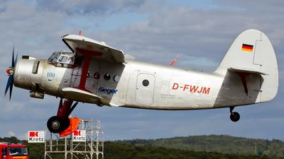 D-FWJM - PZL-Mielec An-2 - Private