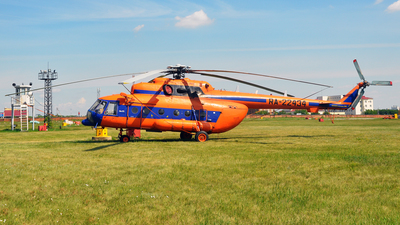 RA-22434 - Mil Mi-8AMT Hip - Omsk Flight Technical College of Civil Aviation of A.V. Lyapidevsky