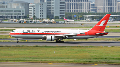 B-2498 - Boeing 767-36D - Shanghai Airlines