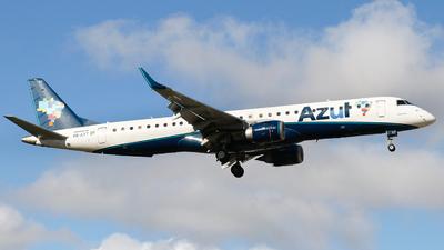A picture of PRAXT - Embraer E195AR - Azul Linhas Aereas - © danilosantosfc758
