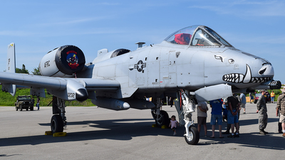 80-0232 - Fairchild A-10C Thunderbolt II - United States - US Air Force (USAF)