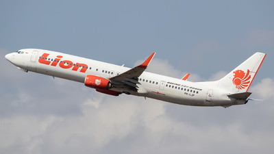 PK-LJP - Boeing 737-9GPER - Lion Air
