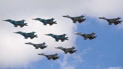 RF-81853 - Sukhoi Su-34 Fullback - Russia - Air Force