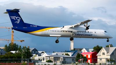 A picture of TFFXI - De Havilland Canada Dash 8400 - Air Iceland Connect - © Steve Rinde