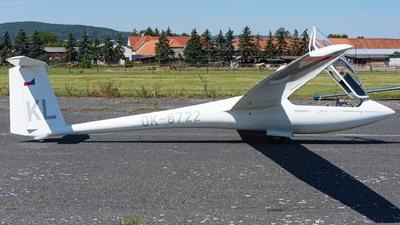 OK-6722 - Schleicher ASW-20 - Aeroklub Kladno