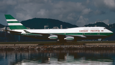 VR-HUI - Boeing 747-467 - Cathay Pacific Airways