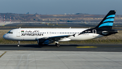 5A-ONO - Airbus A320-214 - Afriqiyah Airways