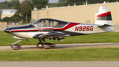 N926G - Vans RV-10 - Private
