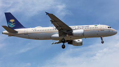 HZ-ASB - Airbus A320-214 - Saudi Arabian Airlines