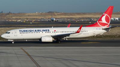 A picture of TCJVR - Boeing 7378F2 - Turkish Airlines - © Furkan Borakazi