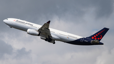 OO-SFC - Airbus A330-342 - Brussels Airlines