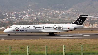 EC-KCZ - McDonnell Douglas MD-87 - Spanair