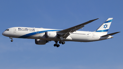 A picture of 4XEDH - Boeing 7879 Dreamliner - El Al - © Alberto Cucini