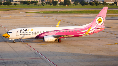 A picture of HSDBM - Boeing 7378AS - Nok Air - © Jon Melo