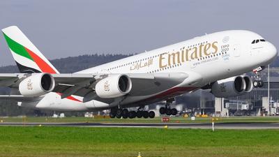 A6-EDM - Airbus A380-861 - Emirates