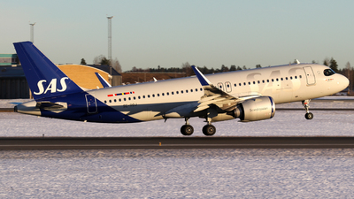 A picture of SEROJ - Airbus A320251N - SAS - © Kamil Pisarski
