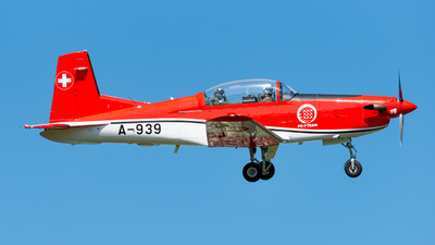 A-939 - Pilatus PC-7 - Switzerland - Air Force