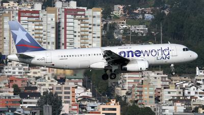 HC-CLC - Airbus A320-233 - LAN Ecuador