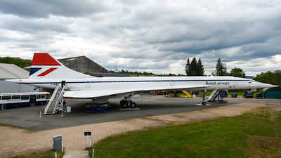 G-BBDG - Aérospatiale/British Aircraft Corporation Concorde - British Airways