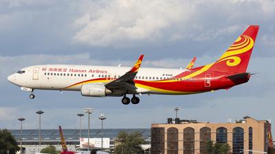B-5406 - Boeing 737-84P - Hainan Airlines