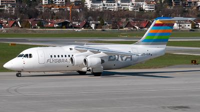 SE-DJN - British Aerospace Avro RJ85 - Braathens Regional