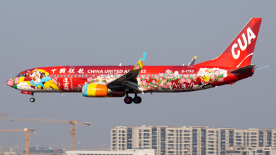 B-1750 - Boeing 737-89P - China United Airlines