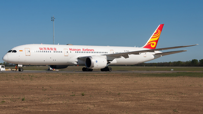 A picture of B1540 - Boeing 7879 Dreamliner - Hainan Airlines - © Viktor László - Budapest Aviation Photography