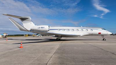 LX-RAY - Gulfstream G650ER - Global Jet Luxembourg