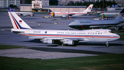 B-160 - Boeing 747-209F(SCD) - China Airlines Cargo
