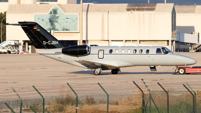 D-CJBH - Cessna 525 Citationjet CJ3 - Private