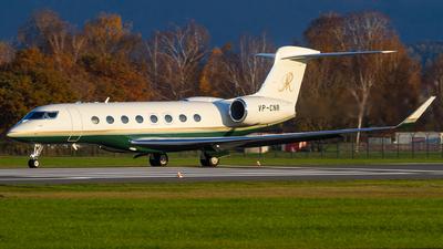 A picture of VPCNR - Gulfstream G650 - [6034] - © David Schilcher