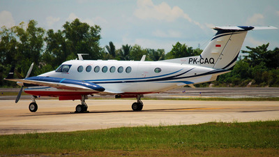 PK-CAQ - Beechcraft B300 King Air 350i - Indonesia - Government