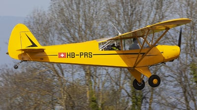 HB-PRS - Piper PA-18 Super Cub - Private