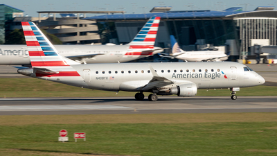 A picture of N408YX - Embraer E175LR - American Airlines - © Yan777