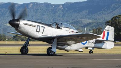VH-AUB - CAC CA-18 Mk.21 Mustang - Private