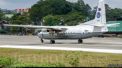 10669 - Fokker F27-500F Friendship - Philippines - Air Force