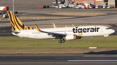 VH-VUD - Boeing 737-8FE - Tigerair