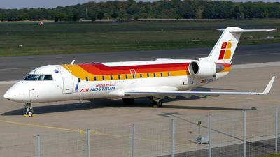 EC-GZA - Bombardier CRJ-200ER - Iberia Regional (Air Nostrum)
