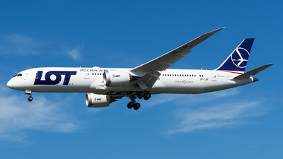 SP-LSF - Boeing 787-9 Dreamliner - LOT Polish Airlines
