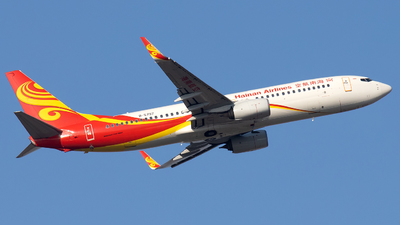 A picture of B5797 - Boeing 73784P - Hainan Airlines - © XPHNGB