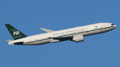 A picture of APBMG - Boeing 7772Q8(ER) - Pakistan International Airlines - © Memory of the Winter