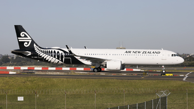 ZK-NNG - Airbus A321-271NX - Air New Zealand