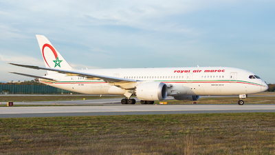 CN-RGB - Boeing 787-8 Dreamliner - Royal Air Maroc (RAM)
