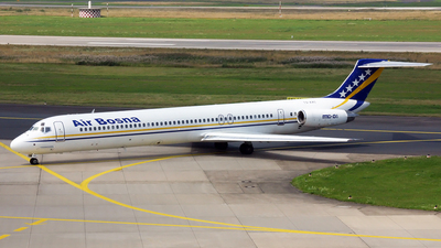 T9-AAC - McDonnell Douglas MD-81 - Air Bosna