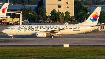 B-1705 - Boeing 737-86J - Donghai Airlines